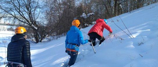 Снежно-ледовые занятия (снег-фирн)