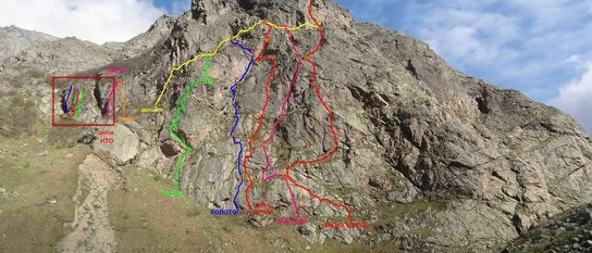 Открытые скалы России: создание скальных районов
