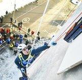 Видео-ролик о чемпионате мира по ледолазанию в Москве 2018