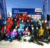 Победа российской молодежной сборной на первенстве мира по ледолазанию