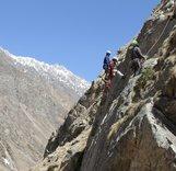В Кабардино-Балкарии альпинисты проходят обучение по спасению в горах