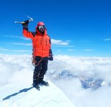 Набор альпинистов для тестирования кремов от обморожения и ветра
