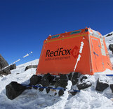 "Станция ""Red Fox 5300"" на седловине Эльбруса"