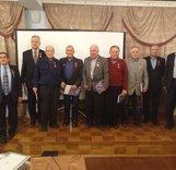 Награждение за заслуги в развитии альпинизма, скалолазания, ветеранского спорта
