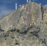 Определён список маршрутов 2-го этапа Кубка России по альпинизму в скальном классе