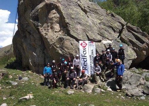 В Терсколе успешно завершились УТС на жетон «Спасение в горах»